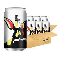 雪花啤酒纯9 9度330ml*6听六连包新鲜爽口冰爽罐装清爽铝瓶装 (¥13)