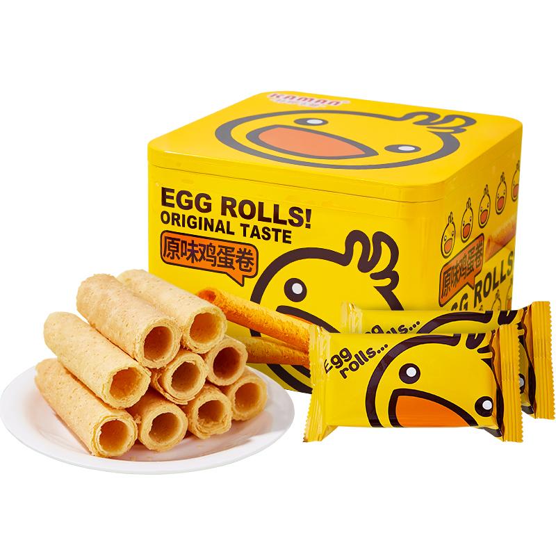 【天猫超市】咔啰卡曼鸡蛋卷礼盒