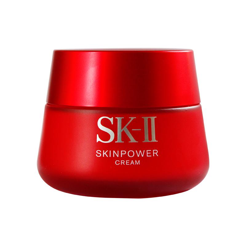 skII 面部护肤精华霜面霜 滋润型 50g 全新大红瓶面霜 IIsk2 SK