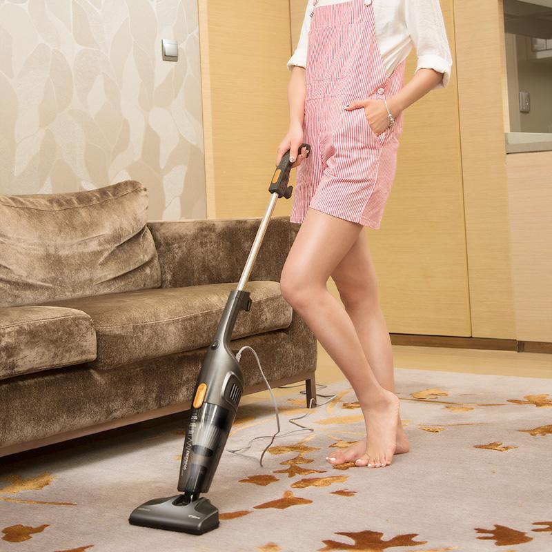 吸尘器家用手持式强力地毯小型吸尘机 DX115S 德尔玛 Deerma