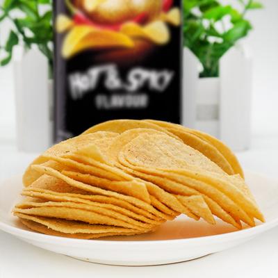 Jacker/杰克马来西亚进口 香辣味薯片160g/罐休闲年货零食