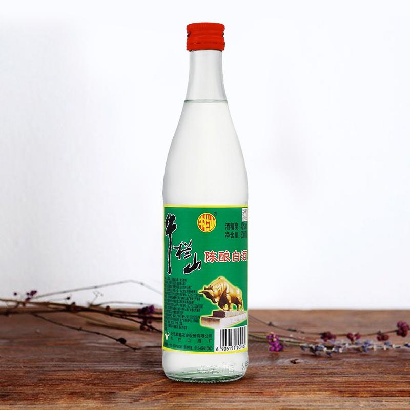 牛栏山白酒42度二锅头陈酿  500ml*12支整箱装白牛二