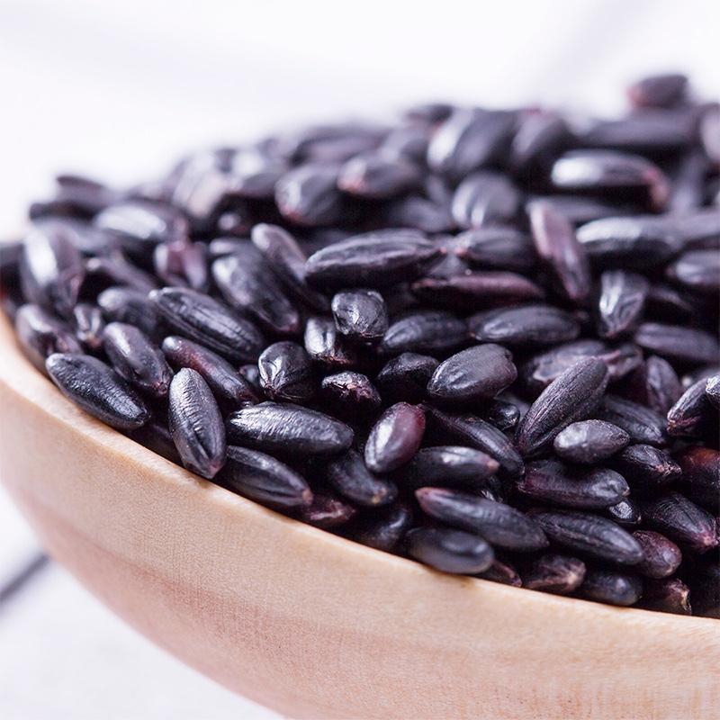 十月稻田 黑米 1kg五谷杂粮 东北大米粗粮煮粥小米黑米粥 粥米
