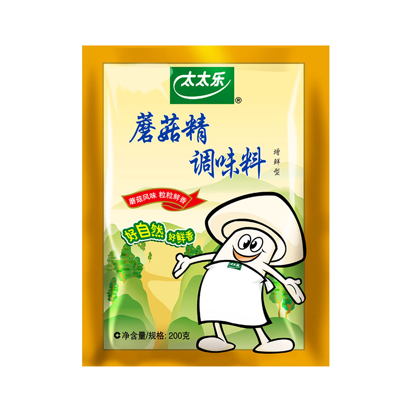 替代鸡精味精 炒菌菇煲汤 袋 200g 太太乐蘑菇精