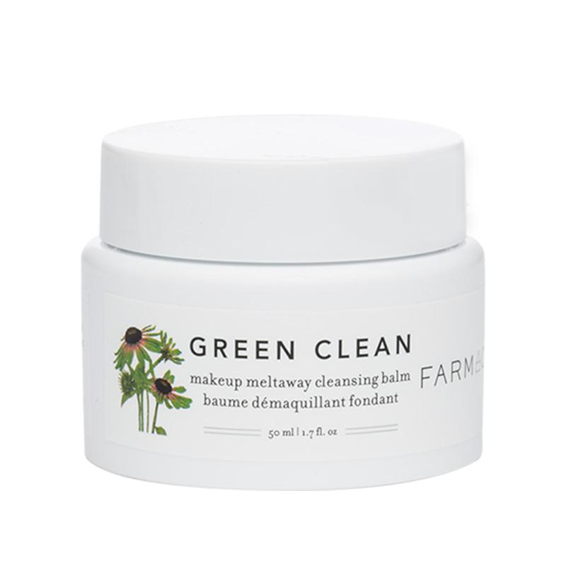 green  100ml 清洁洁面膏紫雏菊眼唇全脸不闷痘 farmacy 卸妆膏 clean