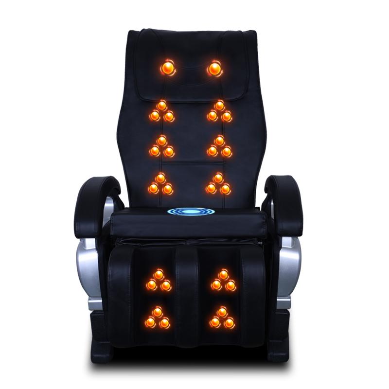 锐宝迈家用按摩椅全身电动按摩靠垫多功能太空舱按摩器老人沙发椅