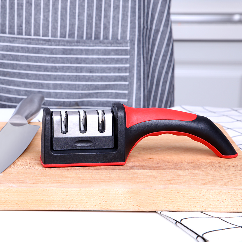 万年利磨刀器家用磨刀石菜刀磨刀棒创意实用厨房用品小工具神器