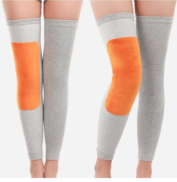护膝女保暖女士老寒腿关节加绒加厚冬季发热冬天男士膝盖无痕防寒