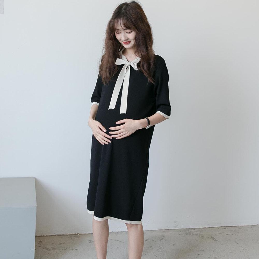 带领显瘦中长款孕妇装夏天裙子