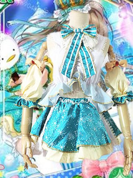 cosplay服装lovelive cos 南小鸟式雪 cosUR ことり式雪だるま雪