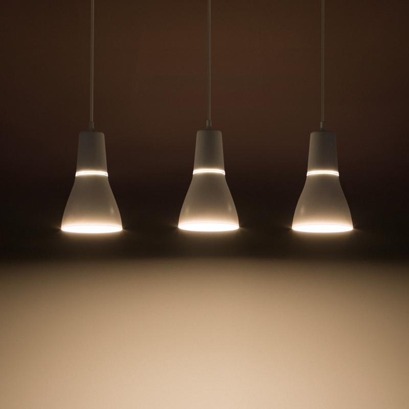 飞利浦餐吊灯昕秀三头餐厅客厅吧台调高度现代简约灯饰灯具