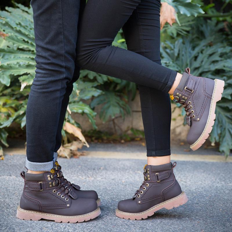 工地中年爸爸鞋46大码45劳保青年工作鞋男棉冬季防寒大头户外短靴