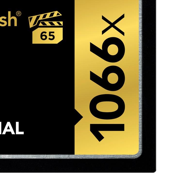 摄像机单反相机内存卡 4K 高速 s 160m 1066X 32G 卡 CF 雷克沙 Lexar