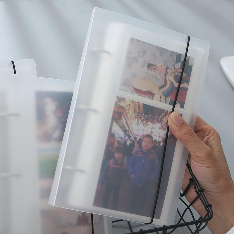 活页票据名片单词卡明星小卡专辑3寸4寸5寸照片拍立得活页相册门票车票电影票飞机票火车票收集纪念册收纳册