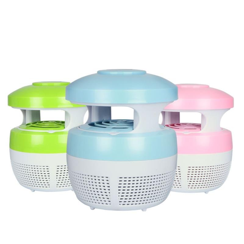 无辐射静音家用灭蚊灯孕妇婴儿LED灯吸入式灭苍蝇捕蚊器光触媒