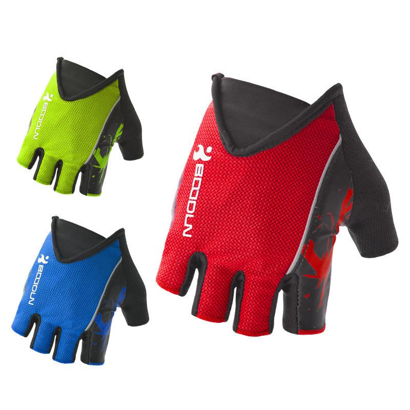 boodun划船手套半指防滑透氣划龍舟端午速幹器械啞鈴瑜伽健身手套