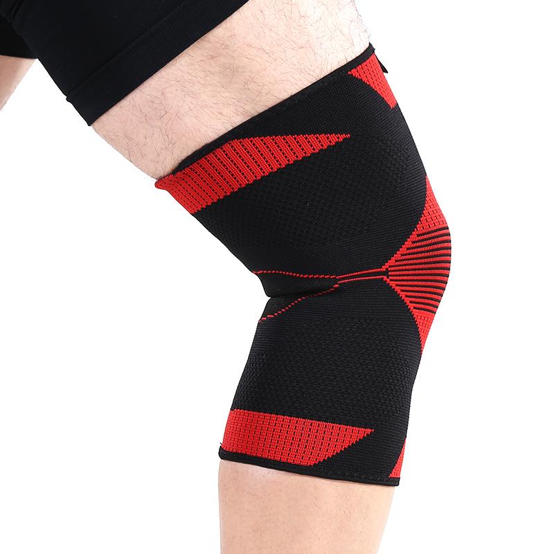 玛克拓普 运动护膝夏季登山骑行透气护具 羽毛球户外男女篮球护膝