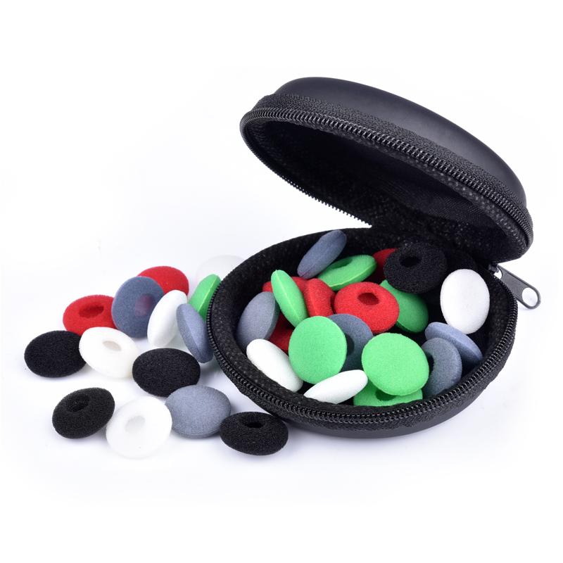 博音适用于耳机套耳机棉耳塞套耳塞式耳机海绵套vivo oppo耳机套加厚森海塞尔配件