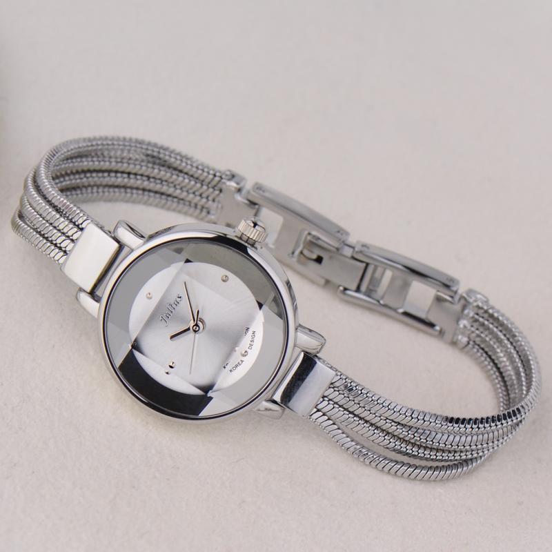 聚利时石英机芯手表时尚防水韩版女学生日韩腕表 S6559 Julius