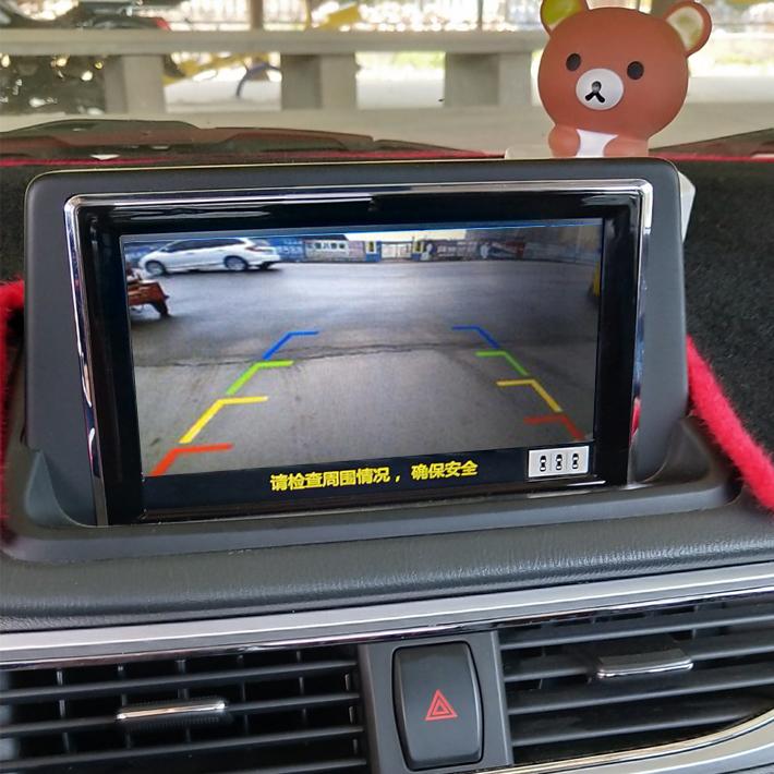 15-18款悦翔V7高清后视摄像头乐享版V5长安CX20专用升级倒车影像