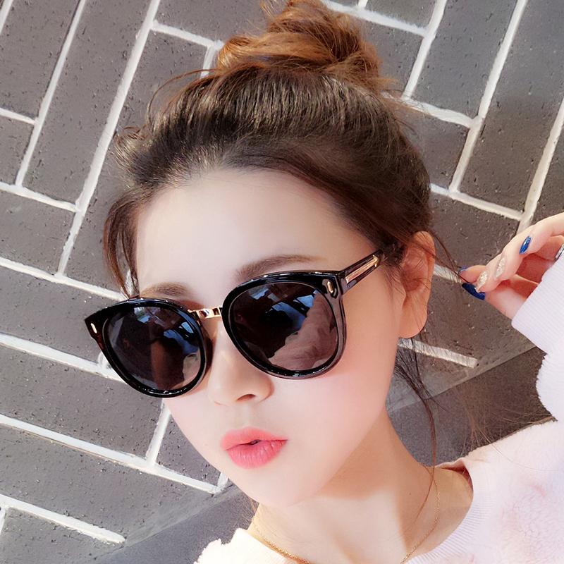 2020新款墨镜女ins韩版潮偏光防紫外线太阳眼镜网红时尚街拍圆脸