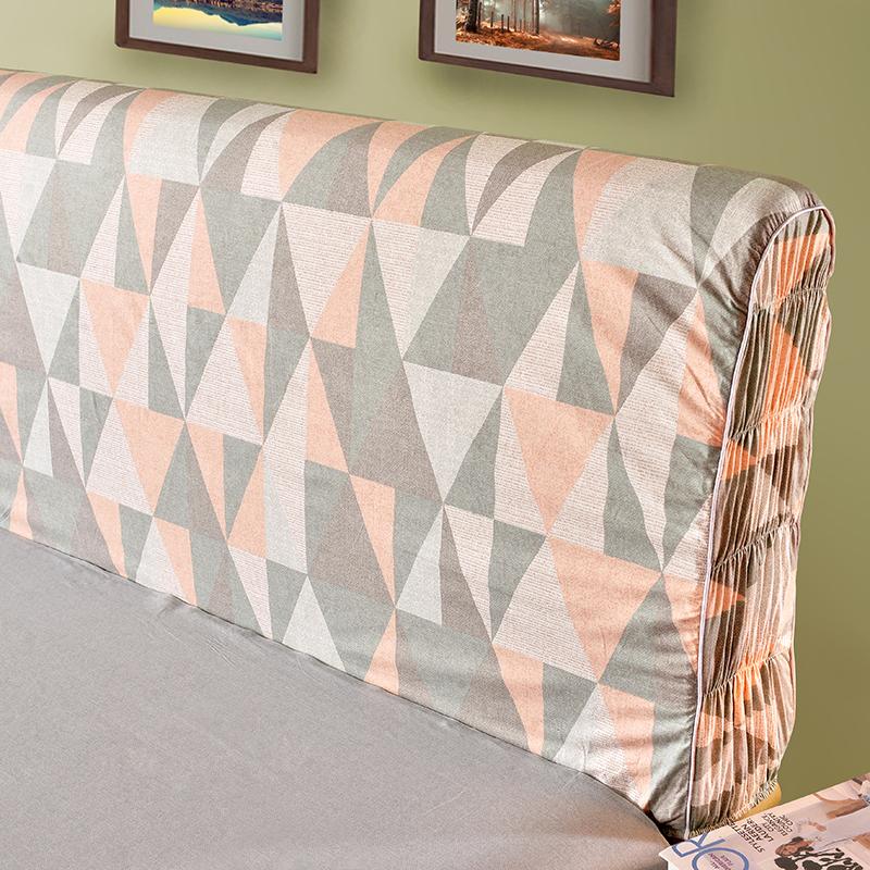床 1.8 1.5 布艺皮床 防尘罩床头保护套 床头罩床头套 全棉纯棉单层