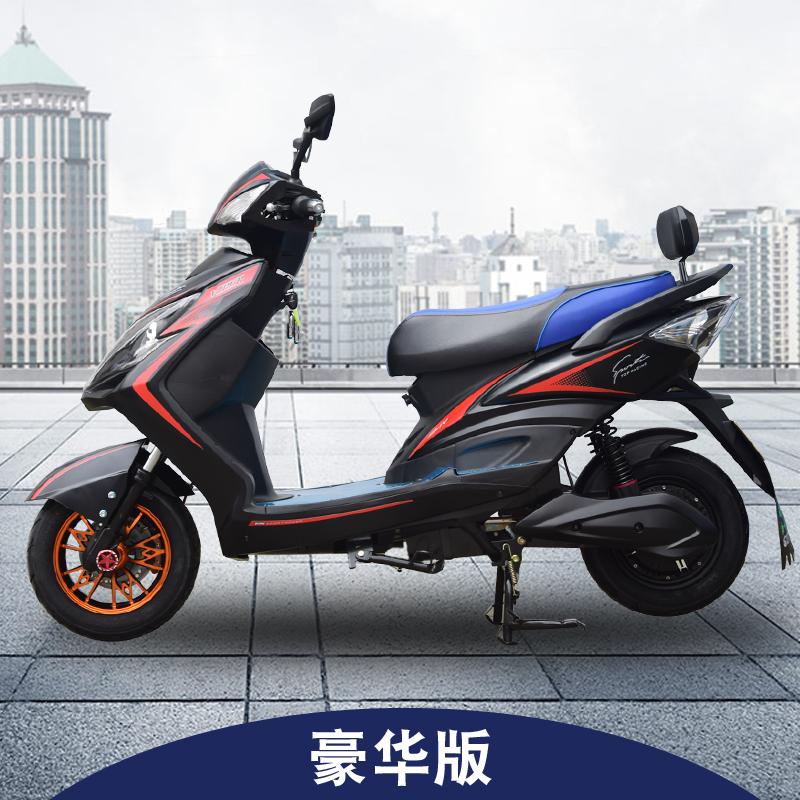 雷霆王电摩电动车60V72V成人男女双人高速电动摩托车踏板电瓶车