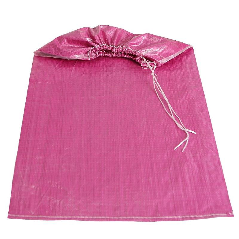 衬布包装袋子地毯圆口拉绳蛇皮袋 布卷抽绳编织袋运输纺织袋定做