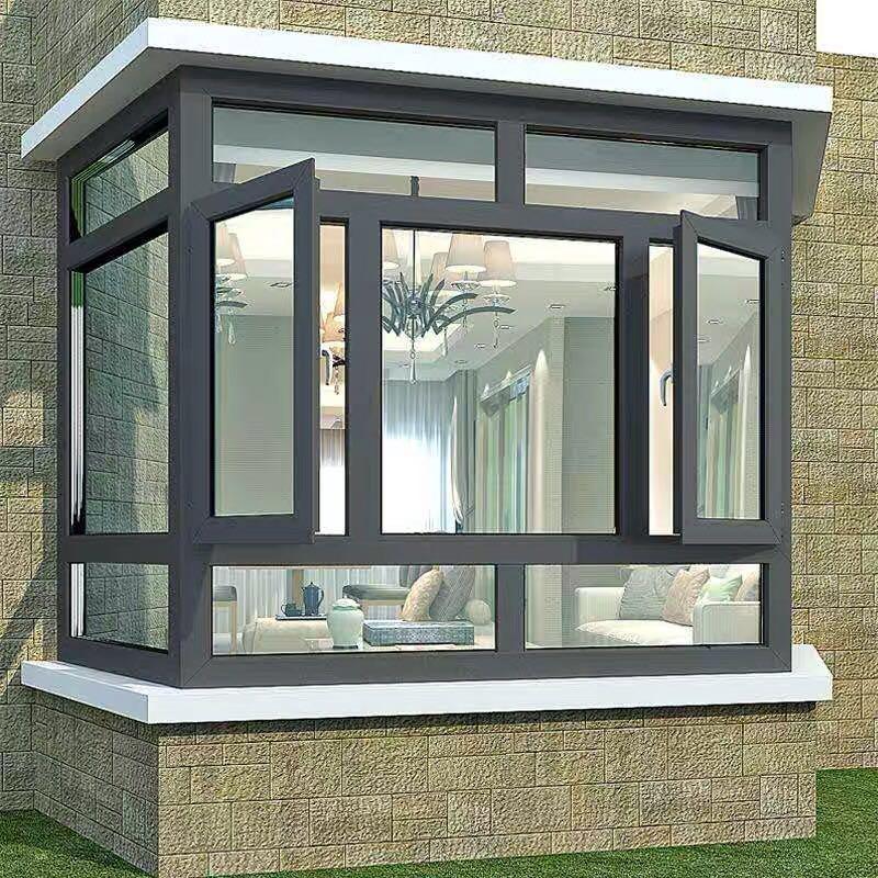 隔音窗加装贵阳遵义三层夹胶玻璃断桥铝窗铝合金门窗落地窗封阳台