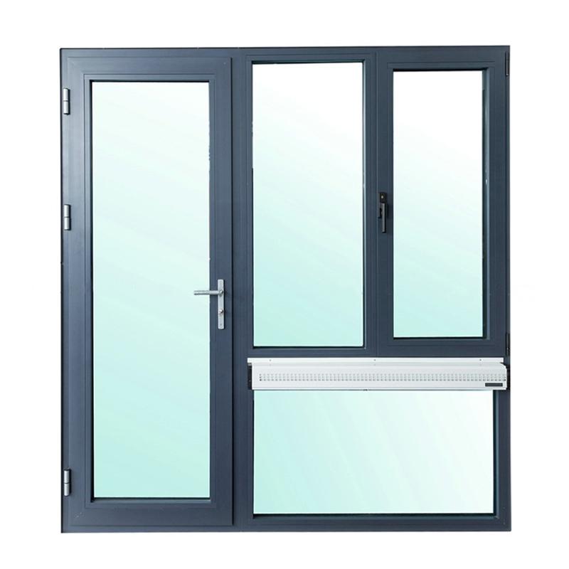 京诚恒达盾斯盟断桥铝门窗封阳台橡木铝包木窗户平开窗隔音落地窗