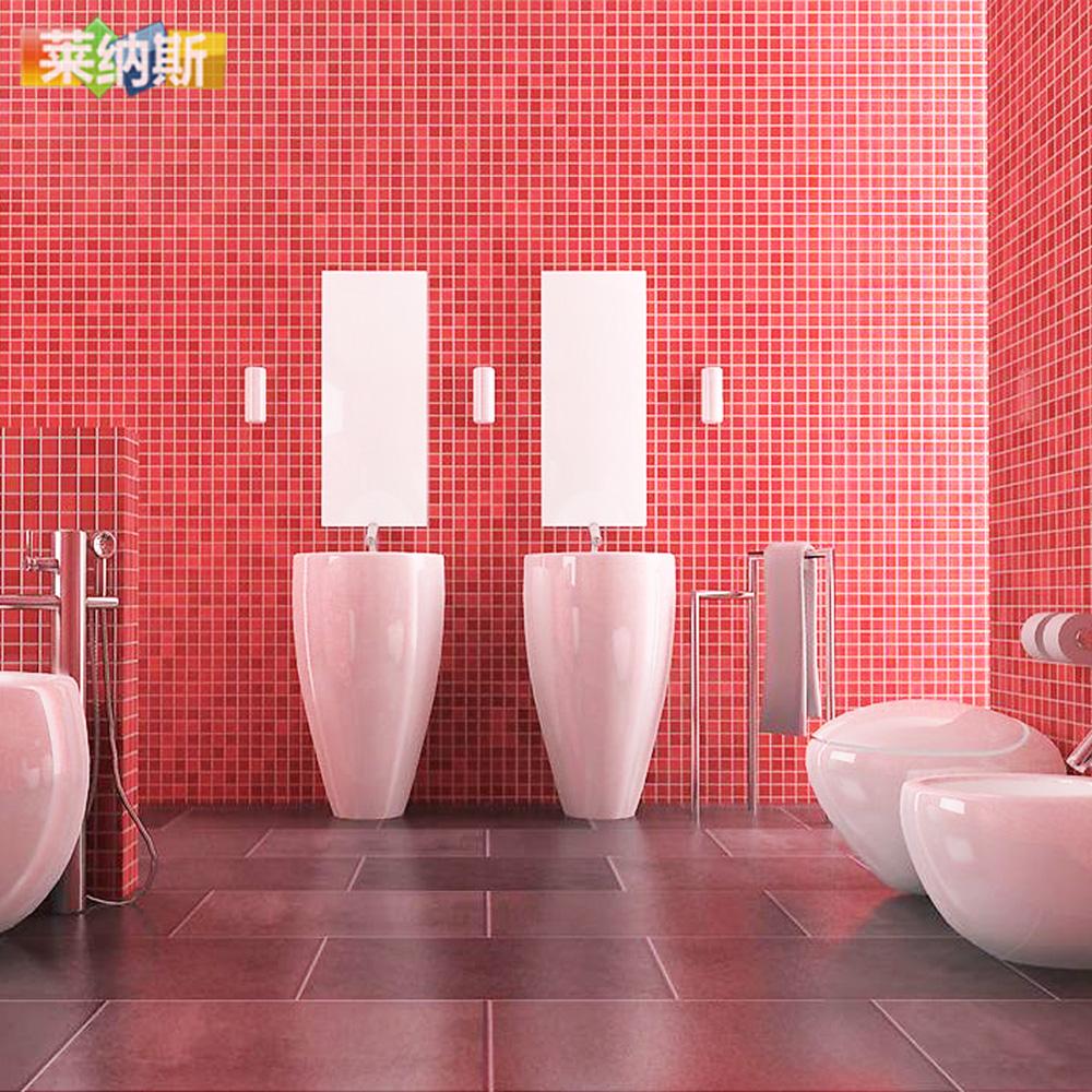 T【莱纳斯】大红色水晶玻璃马赛克 墙贴水晶玻璃装饰材料瓷砖现货