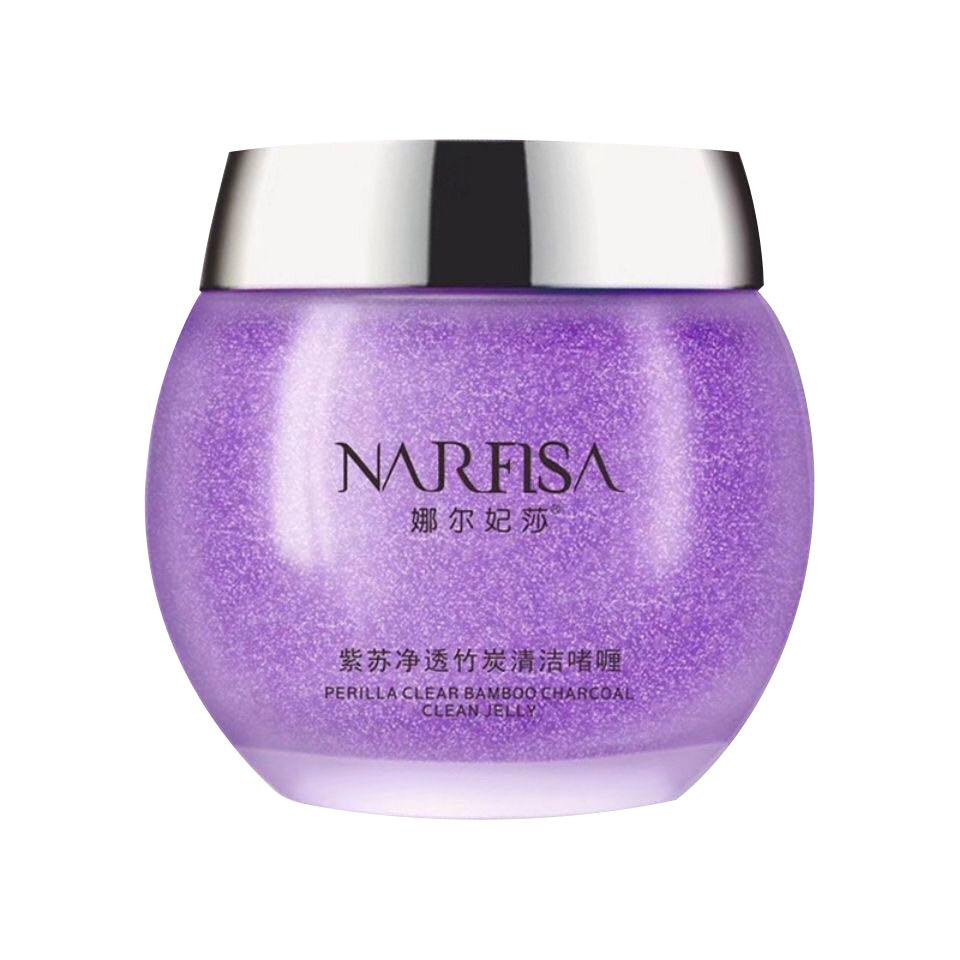 紫苏净透竹炭清洁喱揉按膏面部去黑头深层清理毛孔污垢娜尔妃莎