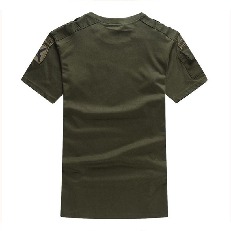 户外登山野营服饰军迷101空降师男士特种兵宽松版短袖T恤包邮