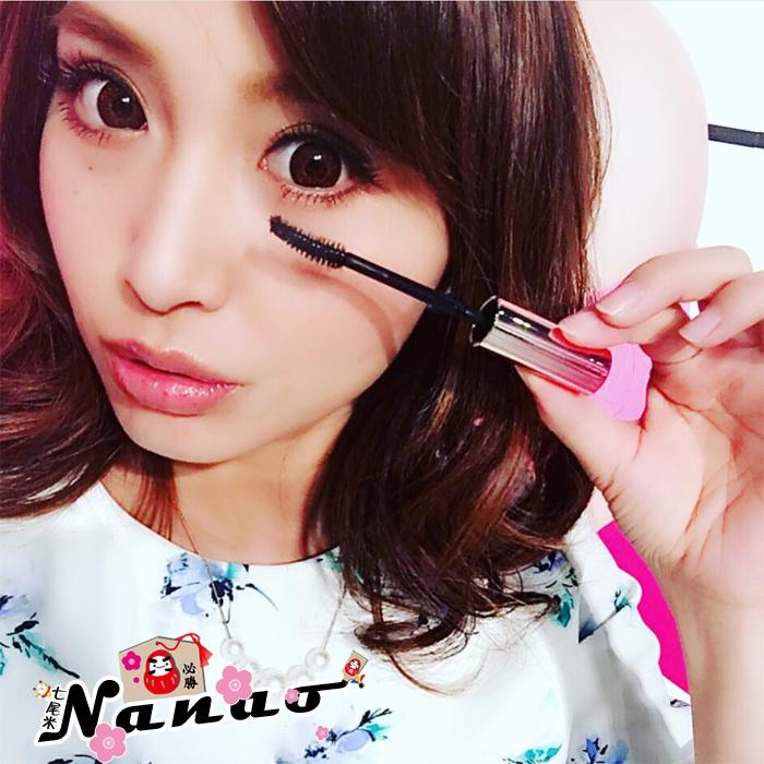 日本KM第三代纖長濃密捲翹優質防水睫毛膏染眉膏先眼線液黑色