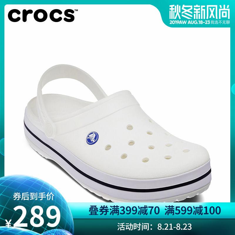 Crocs洞洞鞋 卡骆驰男女情侣鞋卡骆班夏季沙滩鞋平底凉鞋 11016