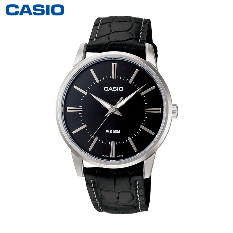 1303L 学生防水石英男士手表卡西欧官网官方正品 1303L MTP casio 旗舰店