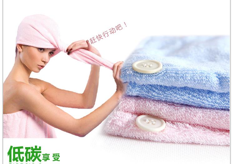 韩国吸水竹纤维干发帽超强吸水干发毛巾加厚加大成人速干浴帽加长