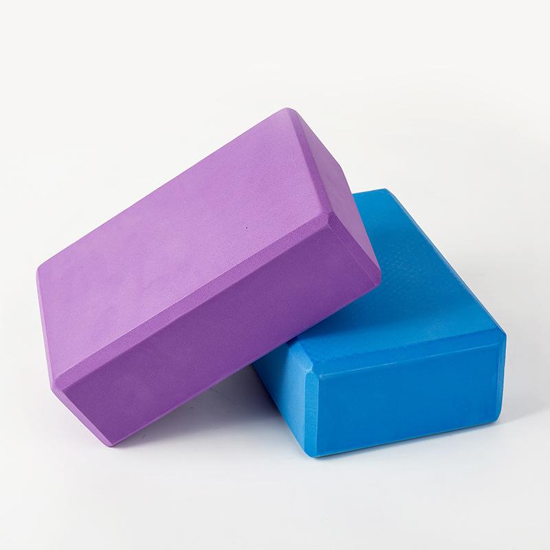 180克瑜伽砖eva高密度瑜伽块环保体育健身砖瑜伽辅助用品泡沫砖