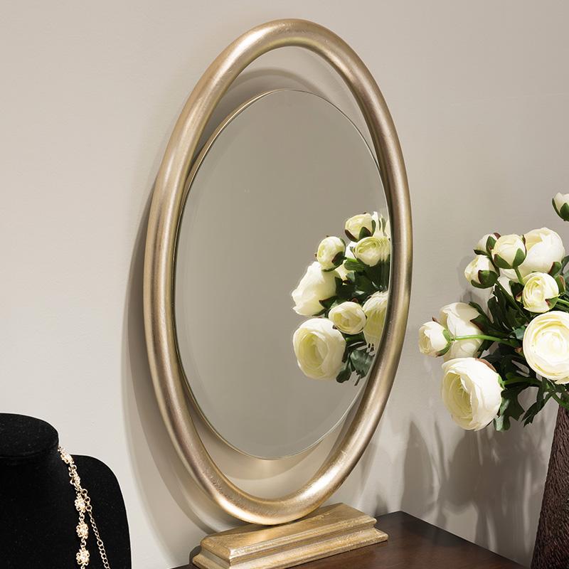 卫诗理家具ON法式新古典实木梳妆台简约卧室收纳化妆桌妆镜组合T5