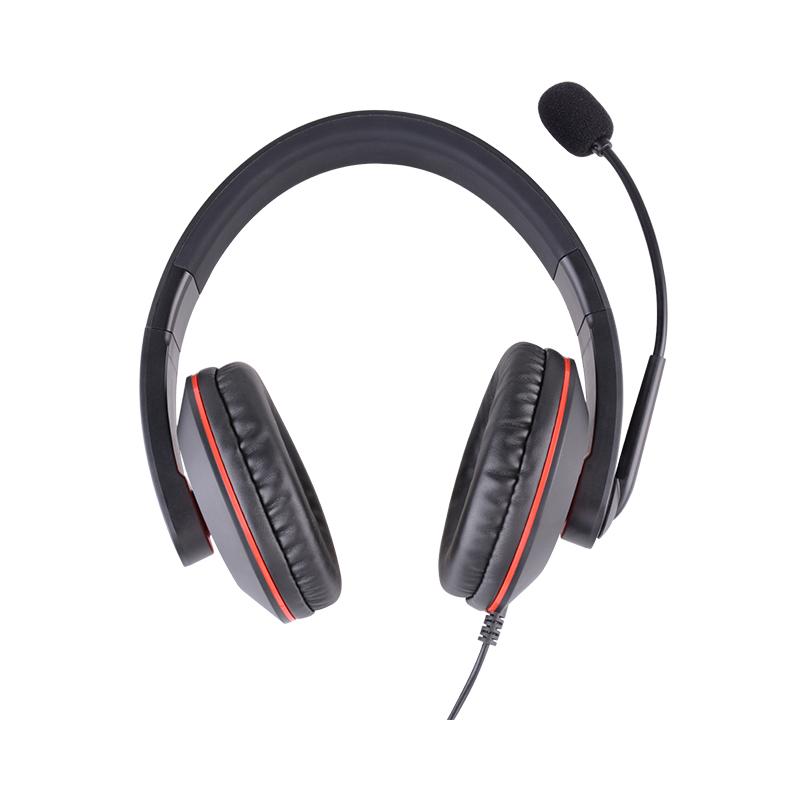 杭普DR-20 电话耳机客服耳麦 座机固话电话机话务员专用台式电脑有线带话筒坐席 电销外呼头戴式大耳罩包耳