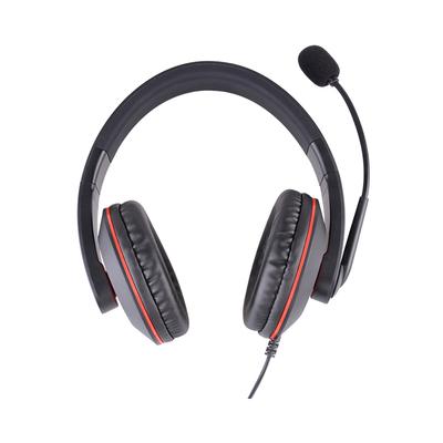 杭普DR-20 电话耳机客服耳麦 座机固话电话机话务员专用台式电脑有线带话筒 双声道电销外呼头戴式大耳罩包耳
