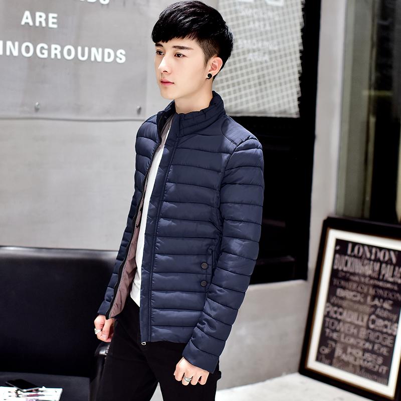 天天特价加厚棉衣男冬季修身青年大码棉服男短款立领外套棉袄男潮