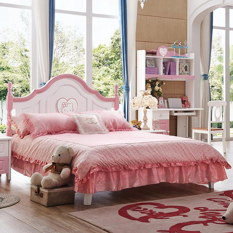 都市儿童床床头柜桌椅衣柜卧室成套家具组合608