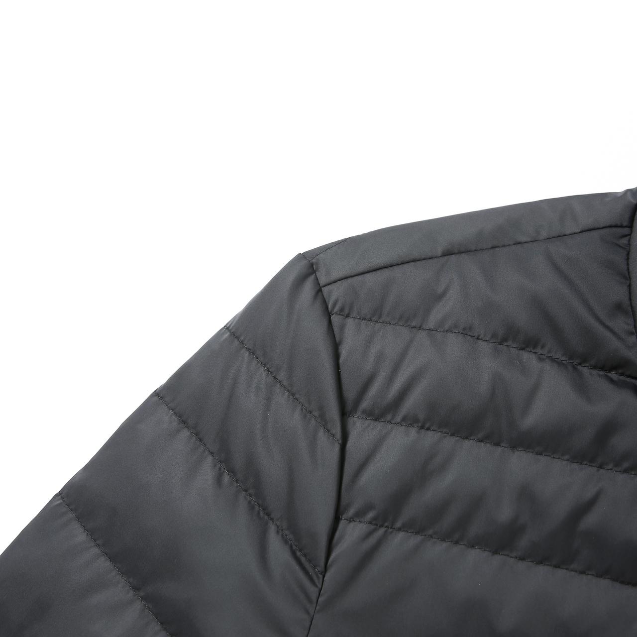 601846007 2019  艾莱依 秋冬新款时尚简约休闲男短款羽绒服修身外套