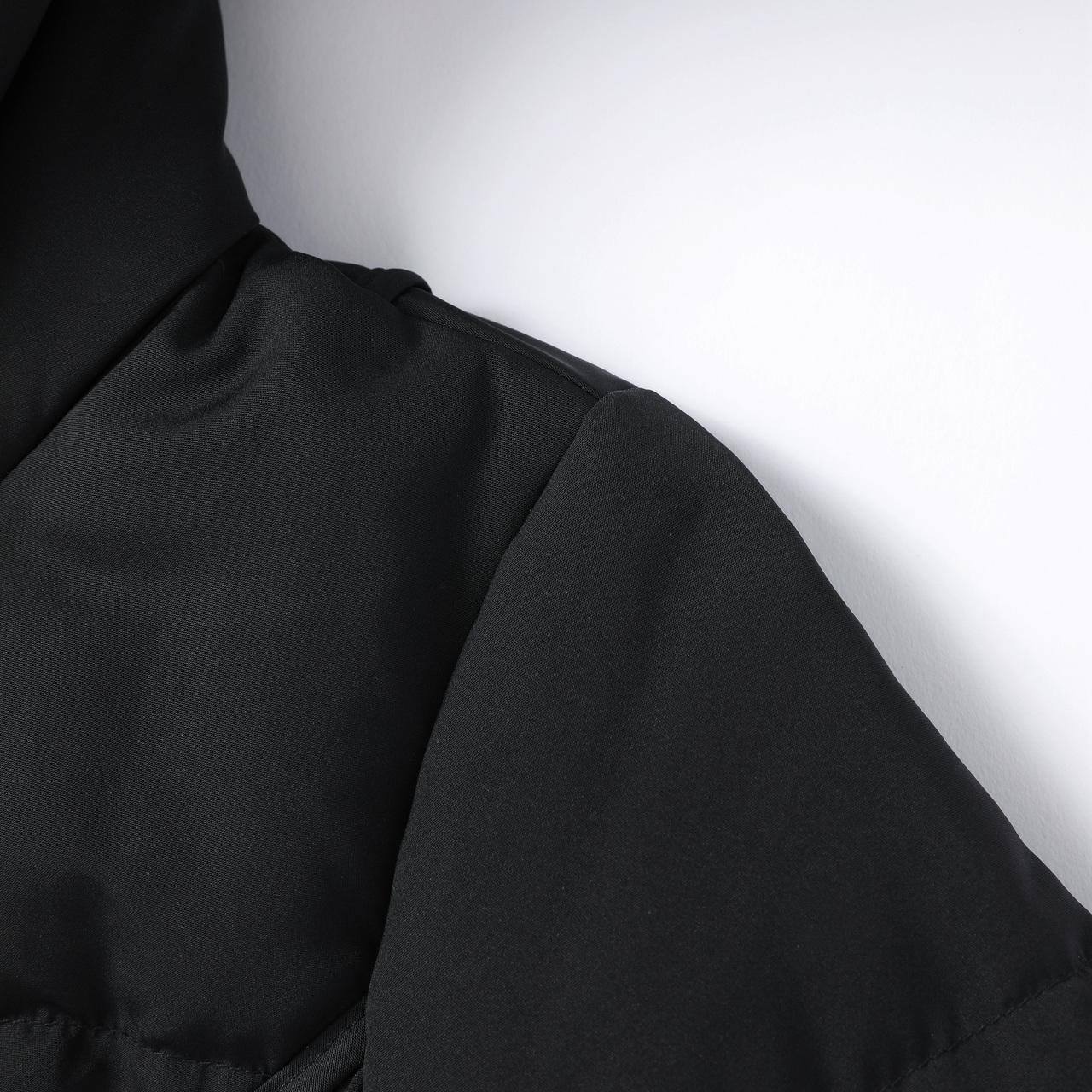 601801078 2019  艾莱依 秋冬新款时尚收腰显瘦羽绒服女中长款外套
