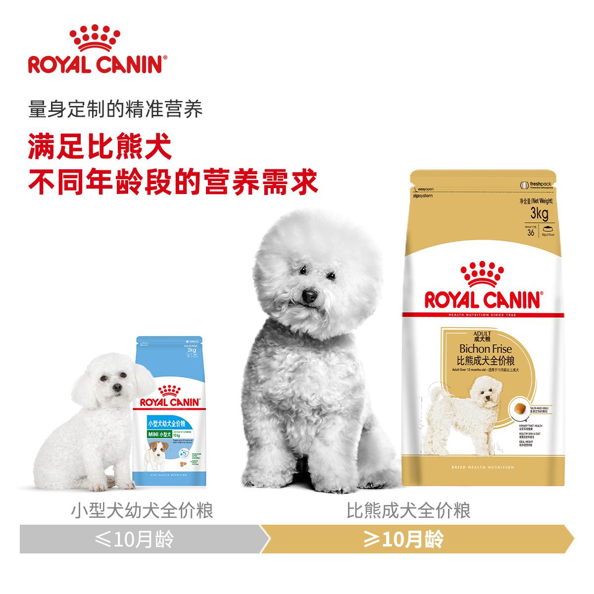 波奇法国皇家狗粮BF29比熊专用成犬粮3kg狗<a href=
