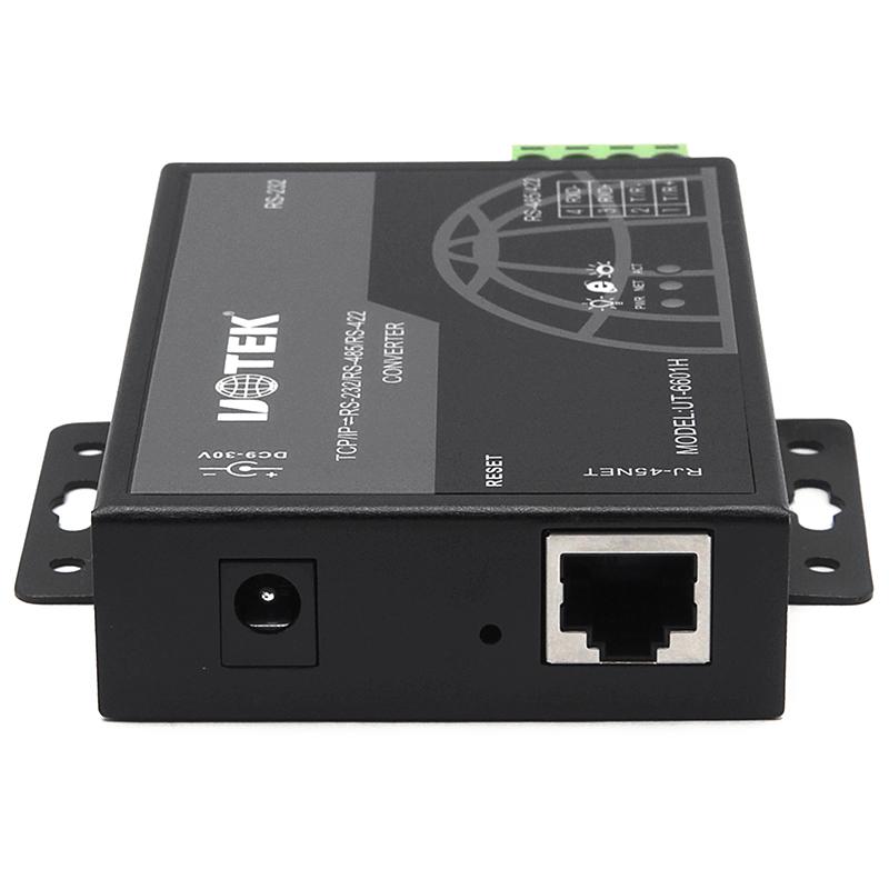 宇泰 串口服务器以太网转232/485/422网络协议模块 UT-6601H