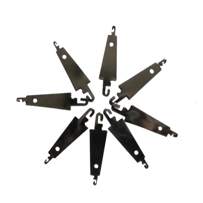 青飞不锈钢双头铁片穿线器穿针器引线器十字绣工具配件批0.2元/个