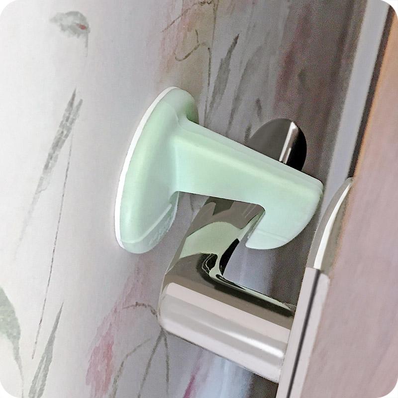 免打孔门挡门阻静音门把手防撞垫缓冲垫硅胶垫隐形门碰防撞墙门吸