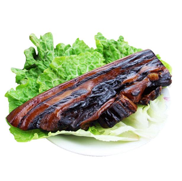 杭州特产万隆酱肉500g  酱香酱猪肉生腊肉咸肉五花肉  百年老字号